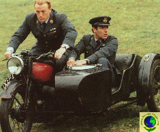 Eddie and Eric on Motorbike