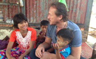 Jerome in Myanmar